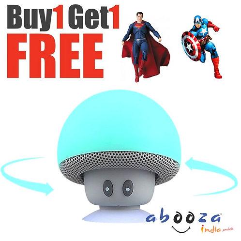 ABOOZA Wireless Mushroom Speaker WITH 1 YEAR WARRANTY
