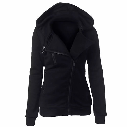 Hooded Outerwear Coats Warm Long Sleeve Hoodies Zipper Sweatshirt