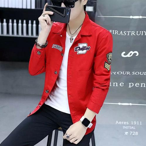 Thin Coat Social Spirit Boy Lapel Slim Jacket