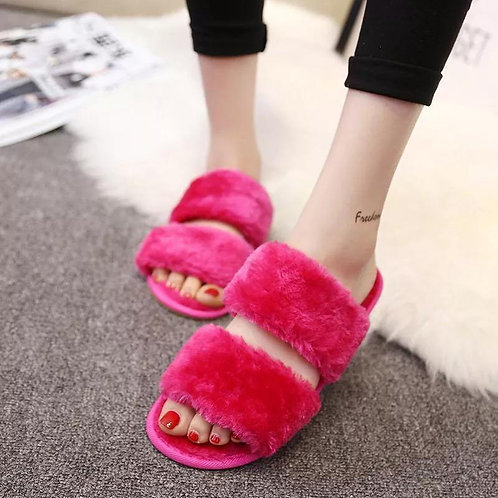 Chirstmas Gift Warm Soft Home Slippers Indoor Adult Casual Shoes