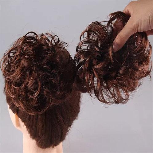 Meatballs Fluffy Wig Elastic Curly Ring