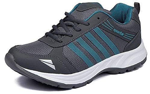 Ethics Ultra Lite Multicolored Sports & Running Shoes for Men's