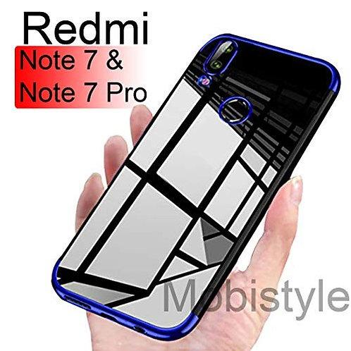 Back Cover for Redmi Note 7/ Redmi Note 7s/ Redmi Note7 Pro (Blue)