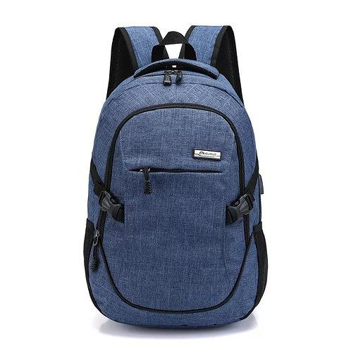 Multi-Function Travel Backpack USB Charge Headset Hole Business Backpacks Bag