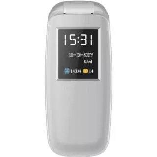 Ikall Flip 3312 Mobile Phone 1.8-inch 64 Mb Internal Memory(grey)