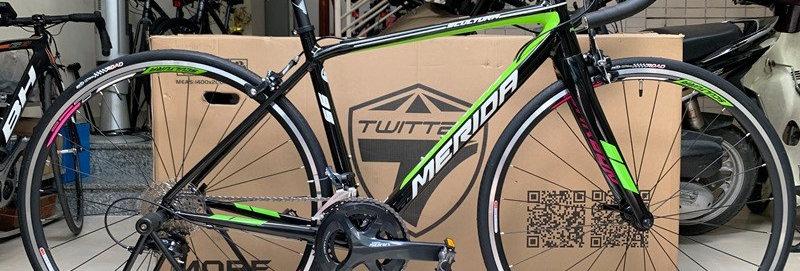 Xe đạp đua MERIDA SCULTURA 95 - 2020, Full groupset Shimano SORA R3000. Hàng NK