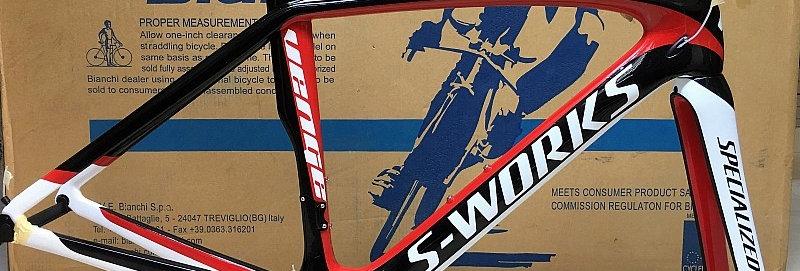 Khung (sườn) xe đạp đua S-WORKSVENGE (FullCarbon)