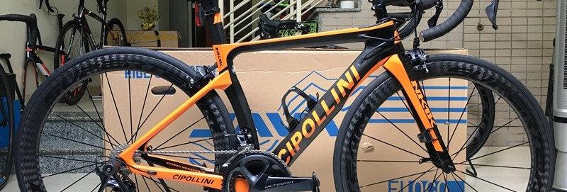 Xe đạp đua CIPOLLINI NK1K - Full carbon, full Shimano ULTEGRA R8000 (mới nhất)