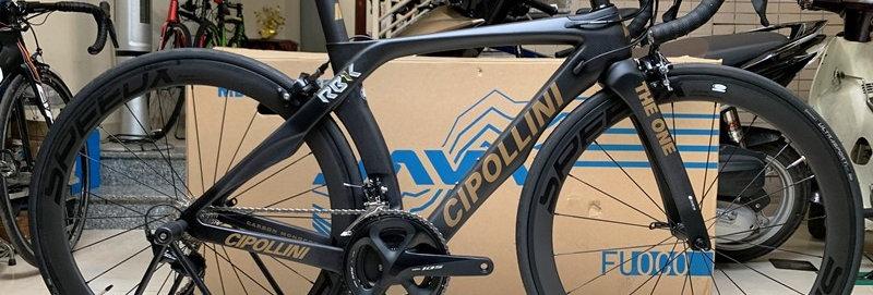 Xe đạp đua chuyên nghiệp CIPOLLINI THE ONE - Full carbon, full Shimano 105 R7000