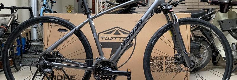 Xe đạp thể thao touring MERIDA CROSSWAY 100, Shimano 27 tốc độ. Hàng nhập khẩu .