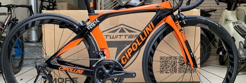 Xe đạp đua CIPOLLINI THE ONE - Full carbon, full groupsets Shimano ULTEGRA R8000