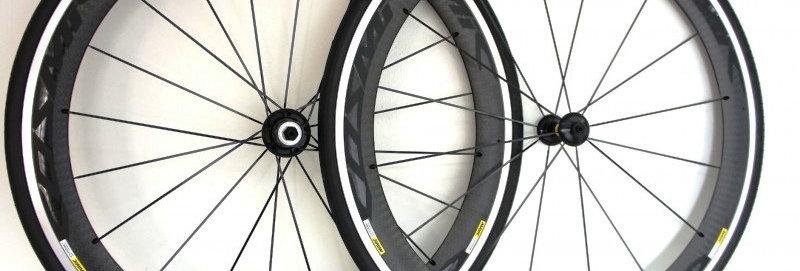 Bộ bánh xe MAVIC COSMIC PRO Carbon/má nhôm(Tem đen)