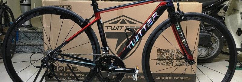 Xe đạp đua TWITTER HUNTER 2.0 (phiên bản full group SRAM APEX 10) - Hàng NK