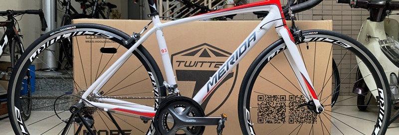 Xe đạp đua MERIDA SCULTURA 93 - 2020, Full groupsets Shimano CLARIS R2000.