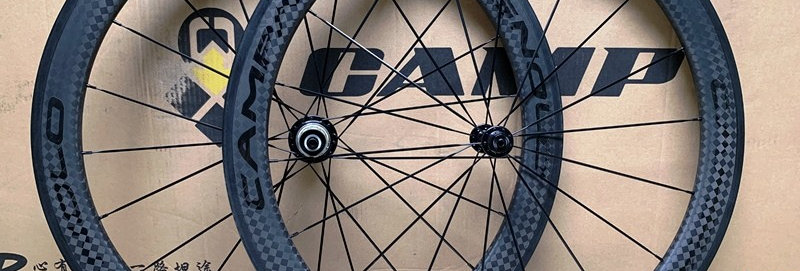 Bộ bánh xe CAMPAGNOLO 50 - Full Carbon (Tem Đen bóng)