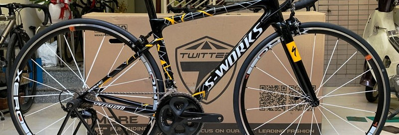 Xe đạp đua SPECIALIZED S-WORKS TARMAC  - Full carbon, group Shimano 105 R7000