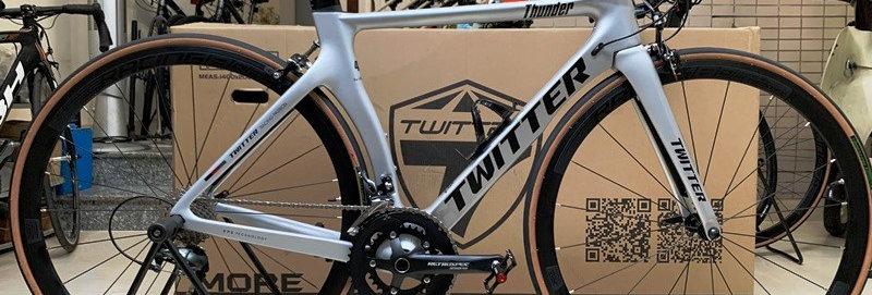 Xe đạp thể thao Road bike tay cầm ngang TWITTER THUNDER (group Shimano TIAGRA)