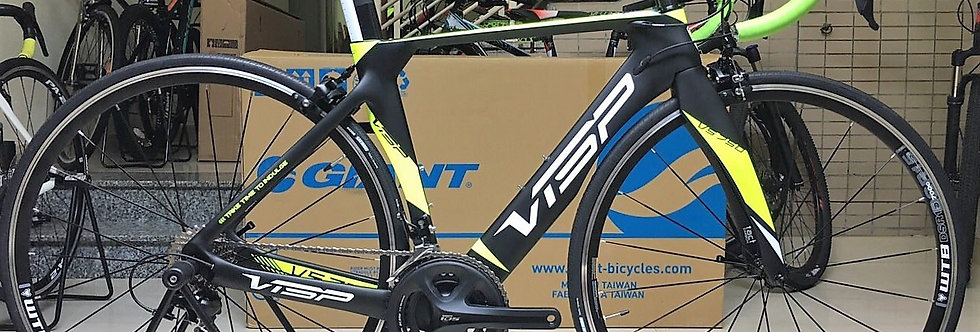 Xe đạp đuaVISP VS750 (Khung carbon, full groupsets Shimano 105 5800)