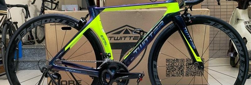 Xe đạp đua TWITTER T10 PRO 2019 (FULL GROUP 105 R7000) - Hàng NK nguyên chiếc