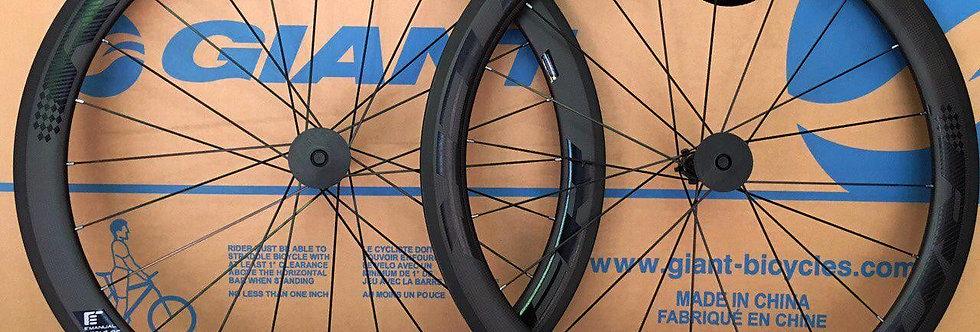 Bộ bánh xe DEUTERSTONE C50Full Carbon (Tem xám)