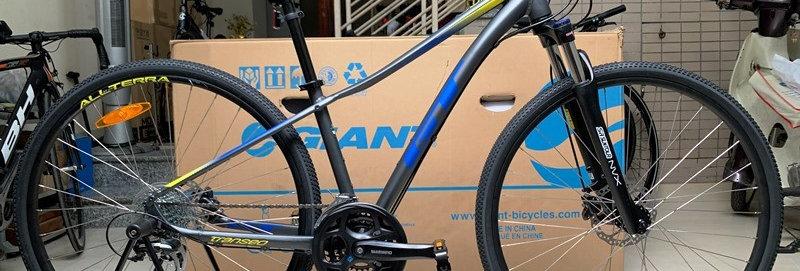 Xe đạp thể thao touring GT Transeo Elite : Shimano 24 tốc độ. Hàng nhập khẩu.