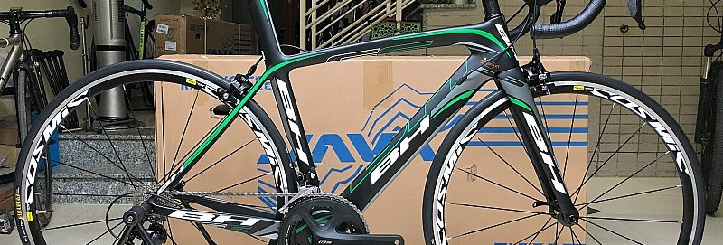 Xe đạp đua chuyên nghiệp BH G6 PRO - Full carbon, full Shimano 105 5800