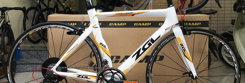 Xe đạp đua ZGL Challenge 40 - Full carbon, full group Campagnolo Centaur