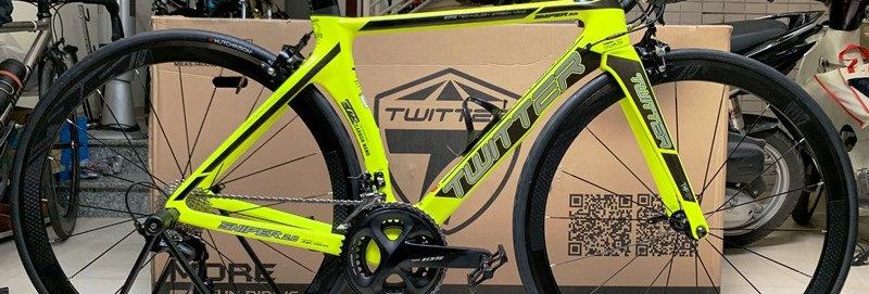 Xe đạp đua TWITTER SNIPER - Khung Carbon, full groupset Shimano 105 R7000.