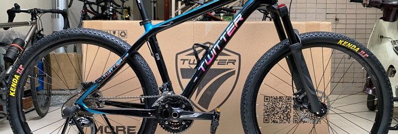 Xe đạp thể thao TWITTER STORM (Shimano DEORE) - Hàng chính hãng NK nguyên chiếc