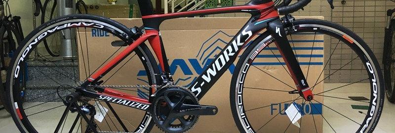 Xe đạp đua SPECIALIZED S-WORKS - Full carbon, full group Shimano Ultegra R8000