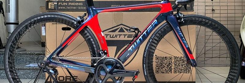 Xe đạp đua TWITTER T10 PRO 2019 (FULL GROUP R8000) - Hàng NK nguyên chiếc