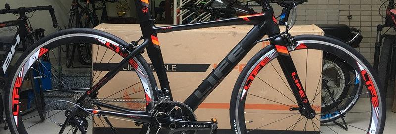 Road bike tay cầm ngang LIFE FCR 528 (Shimano SORA) - Nhập khẩu nguyên chiếc