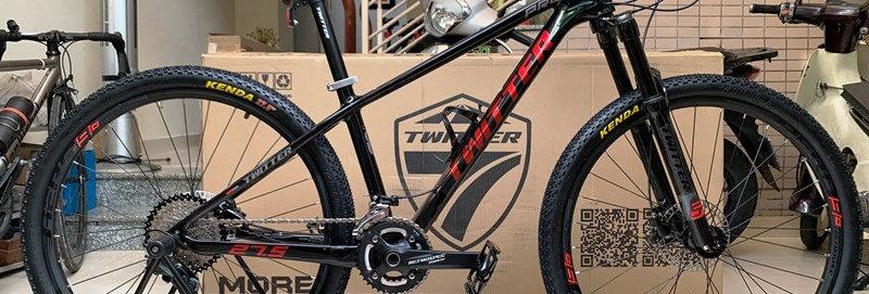 Xe đạp thể thao TWITTER LEOPARD PRO (Shimano DEORE) - Hàng  nhập khẩu chính hãng