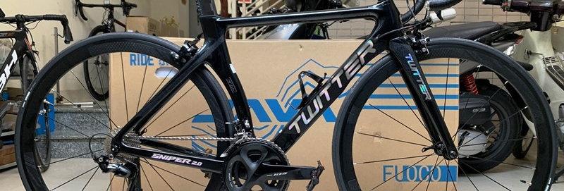 Xe đạp đua TWITTER SNIPER - Khung Carbon, full groupset Shimano 105 R7000