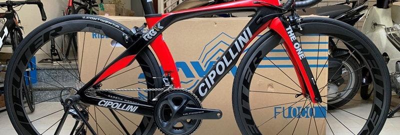 Xe đạp đua CIPOLLINI THE ONE - Full carbon, full Shimano ULTEGRA R8000