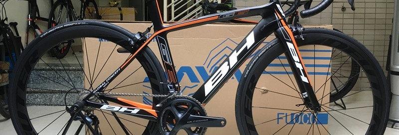 Xe đạp đua BH G6 PRO - Full carbon, full Shimano ULTEGRA R8000 (mới nhất)