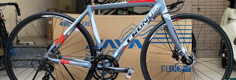 Xe đạp thể thao Touring CRONUS : Shimano SORA 18 tốc độ, thắng đĩa dầu