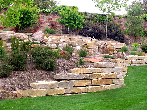 Emerald Landscape Rock Retaining Wall.jp