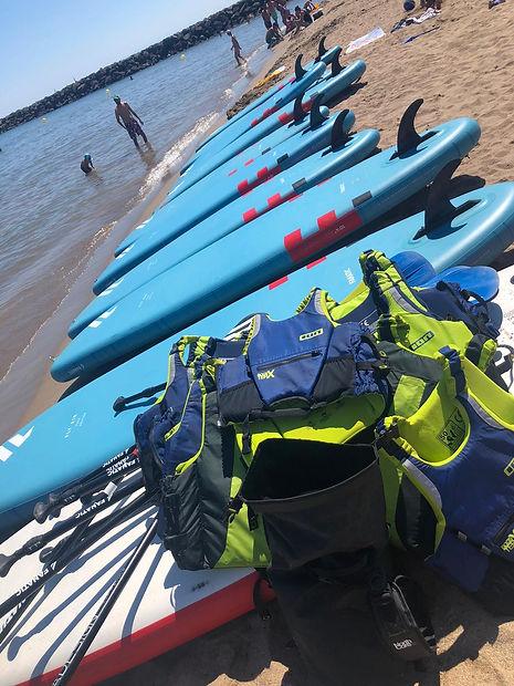 Paddle plage.JPG