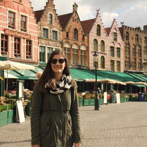 Bir Ressamın Elinden Çıkmış Şehir Brugge