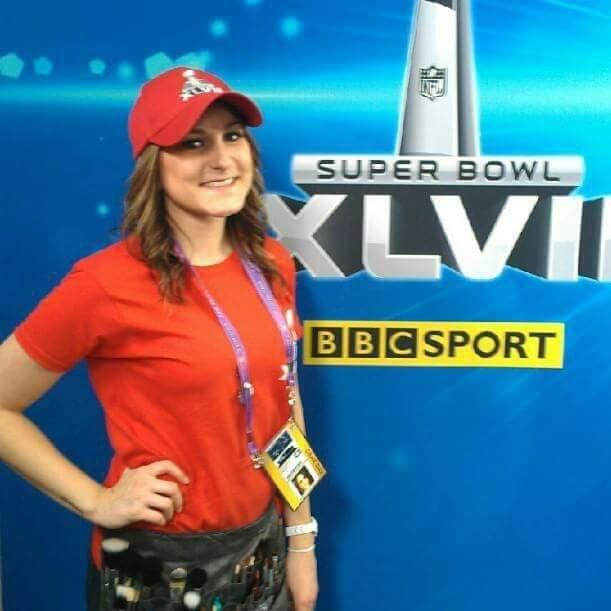 Makeup Artist for NFL Films and BBC Sport