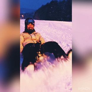 富良野スキー場でのとある1日