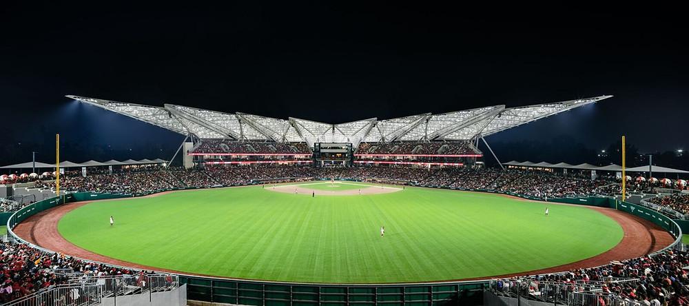 Estadio Alfredo Harp Helú. Campo de los Diablos Rojos. Realizado por Prodisa5 en 2019