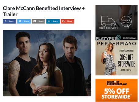 Clare McCann Benefited Interview in girl.com.au