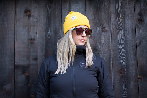 The Uniform Knit Cuff Beanie - Gold