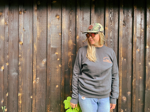 Made for the Kootenays crew sweater