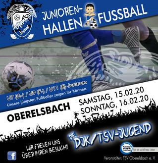 Junioren-Hallenturnier Oberelsbach / Spielpläne stehen fest