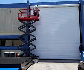 Solid Rolling Door HS100