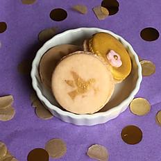 Custom Round macarons