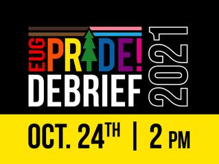 2021 Pride Debrief Meeting